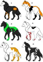 Halloween Adoptables: CLOSED by NewHopeRescue