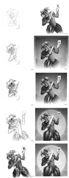 The Death Card process by Limper-SK