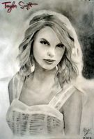 Taylor Swift Sketch by alinawazkhan786
