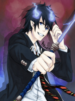 Rin Okumura by MariPocket