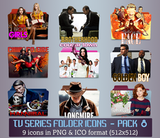 TV Series - Icon Pack 8 by apollojr