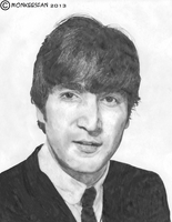 John Lennon, 1964 by MonkeesFan