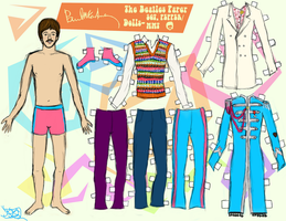 PAUL MCCARTNEY PAPER DOLL 2 by 89000007ANL