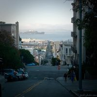 the streets of San Francisco by Frall