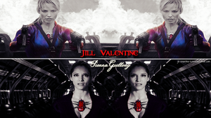 Jill Valentine  (Sienna Guillory) by JillValentinexBSAA