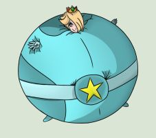 Rosalina as Puffy Meteor by SirWiggles