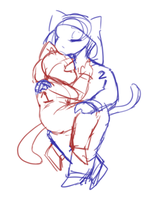 cheeb cuddle ych ! (2/7 OPEN) by FORESTK1NG