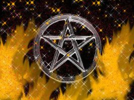 pentagram by strawberryknickerboc