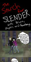 The Search for Slender part 1 by nightmare43yume