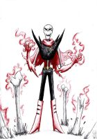 Underfell Papyrus by Crystalitar