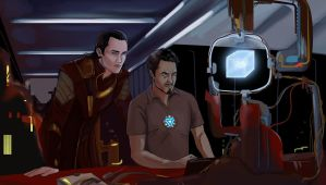 Frostiron again by Alikuu