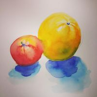 Watercolor Study by Jcoon