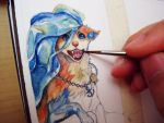 Bookmark WIP - more on my Facebook! by Capukat