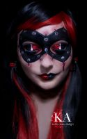 Harley Quinn Makeup with Tutorial by KatieAlves
