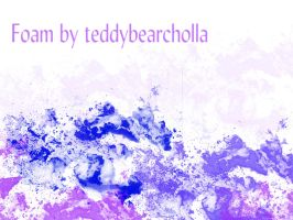Foam by teddybearcholla