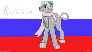 become one with mother Russia colored by Wolvestorms