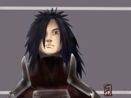 uchiha madara by sharingandevil