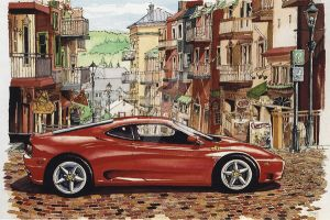 360 at St.Laurent by ferrariartist