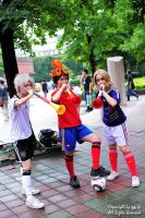 APH - FIFA World Cup Trio by Angela-Chao
