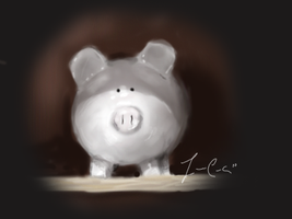 Piggy Bank by Springkiwi