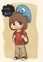 Mac and Bloo by Sunnynoga