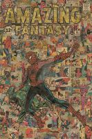 Amazing Fantasy 15 Spider-Man : Comic Collage by flukiechic