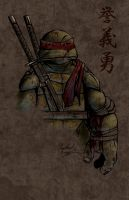Leo Grunge by Ninja-Turtles