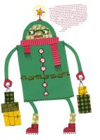 xmas robot 3 by philippajudith