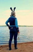 Zootopia: Police Officer Judy Hopps -cosplay 4 by Fuugis