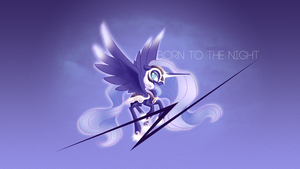 Born to the Night | Nightmare Moon by OvermareX