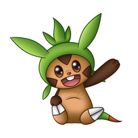 Chespin by RaineLi