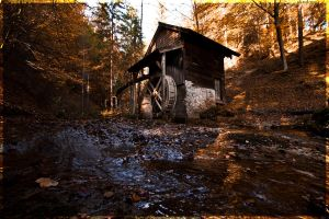 Lonely Mill by sKodOne
