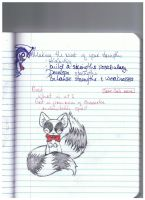 twin tail fox-racoon thing by devilslove666
