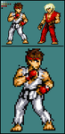 JUS: Ryu by Pixelated-Dude