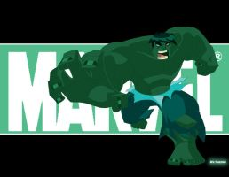 hulk smash by EricGuzman