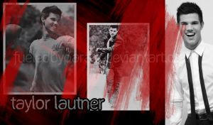 Taylor Lautner Wallpaper by FueledByParaic