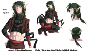 Adult Kisshu concept by Priss-BloodEmpress