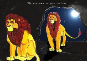 The Sun Sets on Mufasa's Reign by Link-Inc