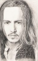 Johnny Depp by annesofielarsen