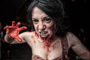 Zombie Prom Attack by Lizzie5115