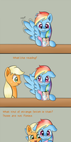 Ask Appledash - My Little Sweetheart Special by RatofDrawn