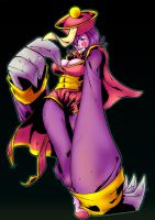 Darkstalkers: Hsien-Ko by Peter-the-Tomato
