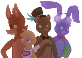 The Originals of Fazbear Entertainment by Cookie-fish