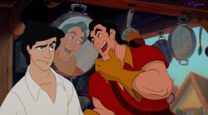 No One Annoys His Brother Like Gaston by MegaraRider