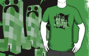 Minecraft T-Shirt by drg