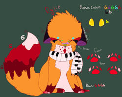 Rylie Ref by MarbleMyst