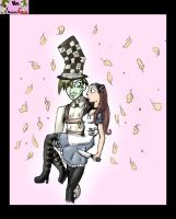 alice and hatter by mollycarroll