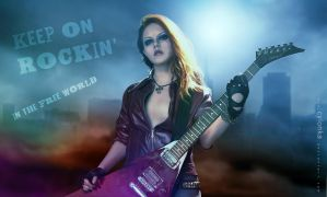 Keep on rockin in the free world by cylonka