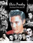 Elvis Collage by FreakyComics