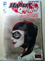 Harley Quinn Sketch cover by RichardZajac